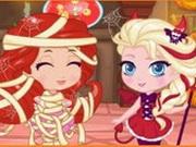 Chibi Halloween Slacking