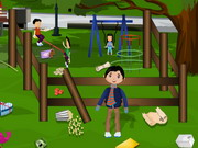 Childrens Park Cleaning