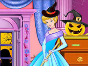 Cinderella Halloween Castle Makeover