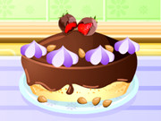 Cooking Chocolate Cheesecake