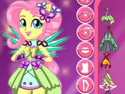 Crystal Guardian Fluttershy Dress Up