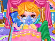 Cute Baby Flu Doctor