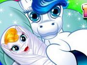 Cute Baby Pony Birth