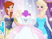 Design Your Frozen Wedding Dress