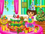 Készíts Dórával karácsonyi tortát!