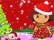 Dóra karácsonyi ruhája
