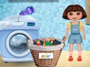 Dora Washing Clothes