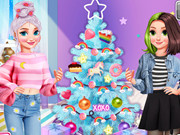 E Girl Neon Vs Paster Xmas Tree
