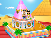 Egyptian Princess Wedding Cake