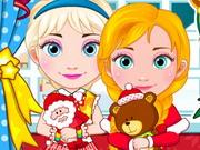 Elsa And Anna Babies Christmas