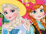 Elsa And Anna Polaroid