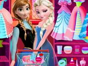 Elsa And Anna Prom Prep