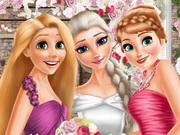 Elsa And Princesses Wedding