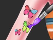 Elsa Arm Tattoo Design