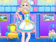Elsa Clean Up Royal Family