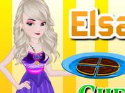 Elsa Cooking Chunky Cheesecake Brownies