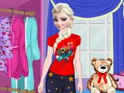 Elsa Pajama Party