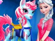 Prenses Elsa ve Pony