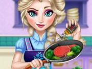 Elsa Real Cooking