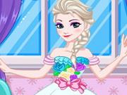 Elsa Wedding Dress Design