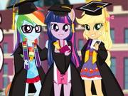 Póni lányok a diploma osztón