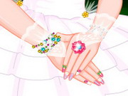 Fairy Barbie Wedding Nails