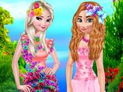 Flower Princess Dressup
