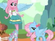 Fluttershy Pony Dress Up