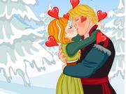 Frozen Anna Kissing