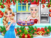 Frozen Christmas Cupcake Maker