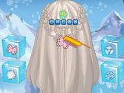 Remarkable Frozen Elsa Feather Chain Braids Play The Girl Game Online Short Hairstyles For Black Women Fulllsitofus