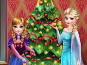 Jégvarázsék karácsonyfája