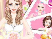Gorgeous Fashion Bride Dress Up