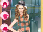 Helen Classic Tartan Dress Up