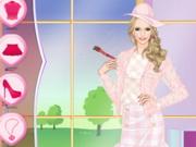Helen Pink Lady Dress Up