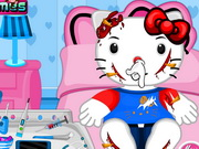 Hello Kitty Bicycle Accident