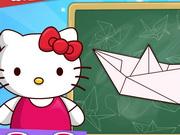 Hajtogass Hello Kittyvel