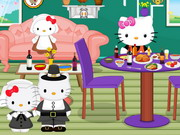 Hello Kitty Thanksgiving Party Decor