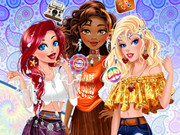 Hippie Disney Princesses