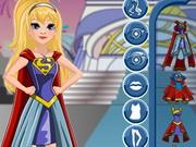 Intergalactic Supergirl Dress Up