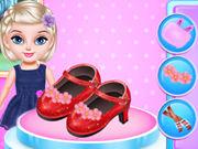 Little Elsa Fashion Shoes Design