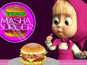Mása és a medve hamburger bárja