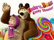 Masha And Bear Candy Shooter