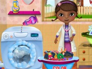 McStuffins Washing Clothes