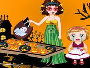 Melisa Halloween Slacking