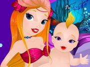 Mermaid Newborn Baby Care