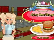 Mia Cooking Spicy Beef Burger