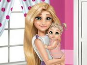 Mommy Rapunzel Home Decoration