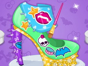 Monster high iskola cipő