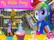 My Little Pony Cake Decoration - Play The Girl Game Online
